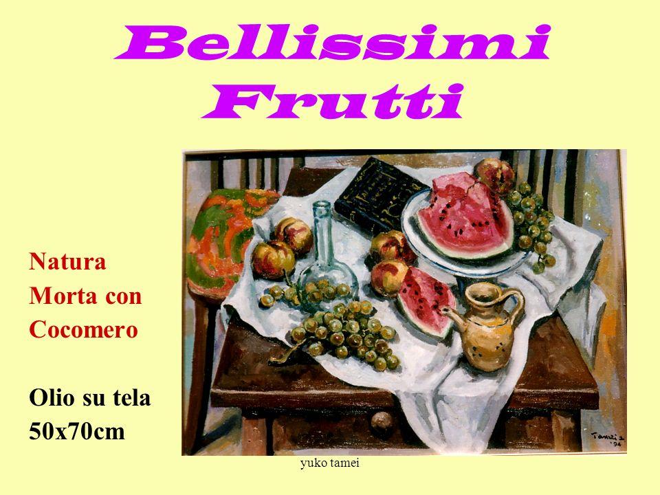 Bellissimi Frutti Natura Morta con Cocomero Olio su tela 50x70cm