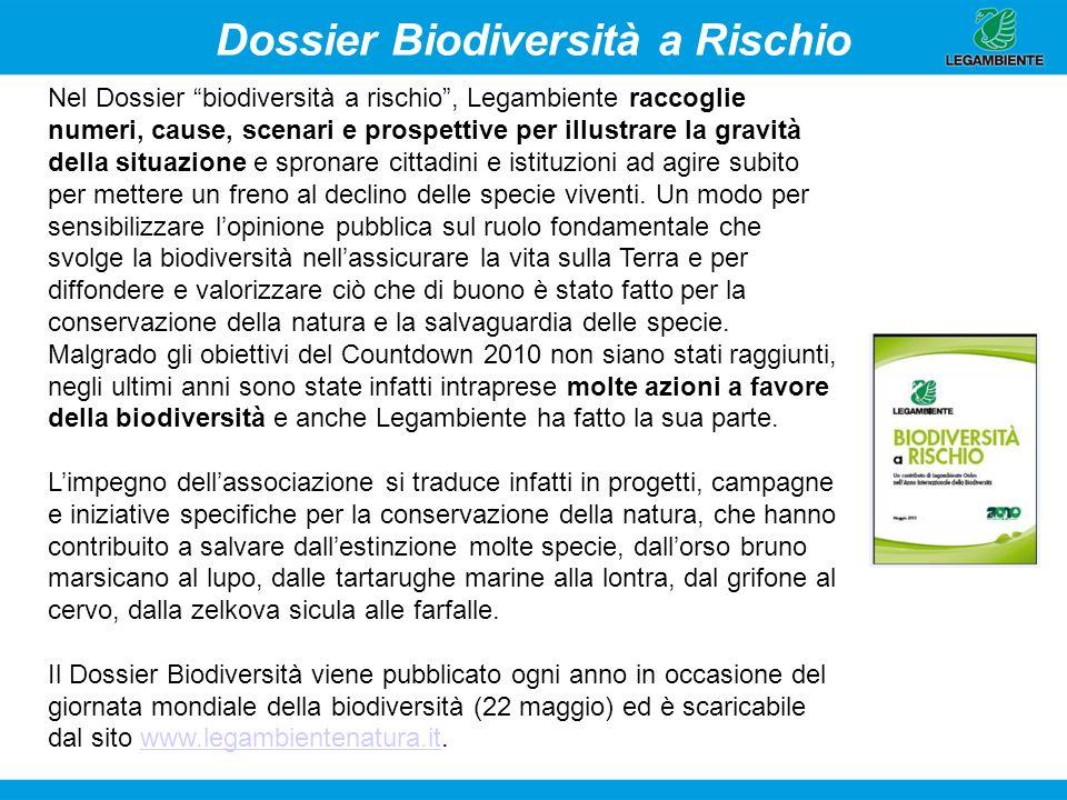 Dossier Biodiversità a Rischio