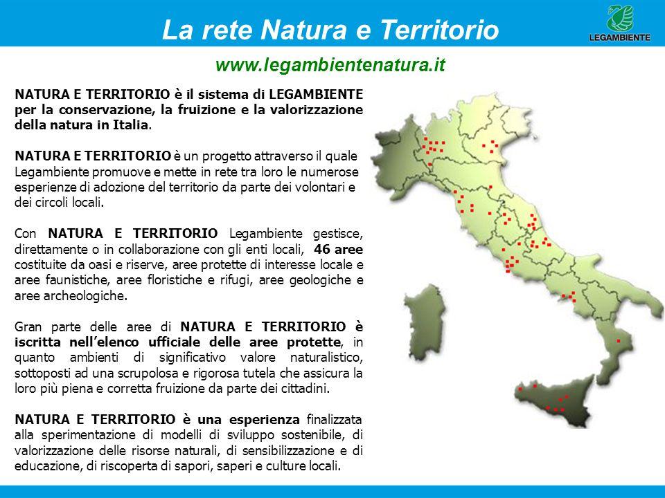 La rete Natura e Territorio