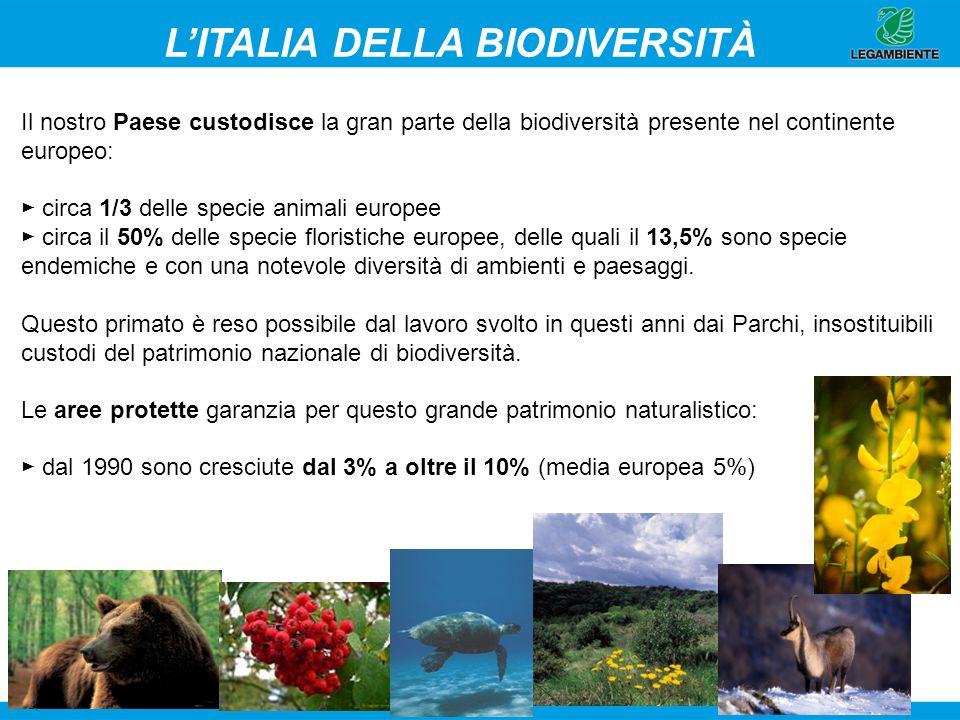 L'ITALIA DELLA BIODIVERSITÀ