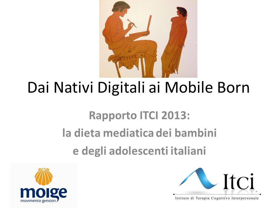 Dai Nativi Digitali ai Mobile Born