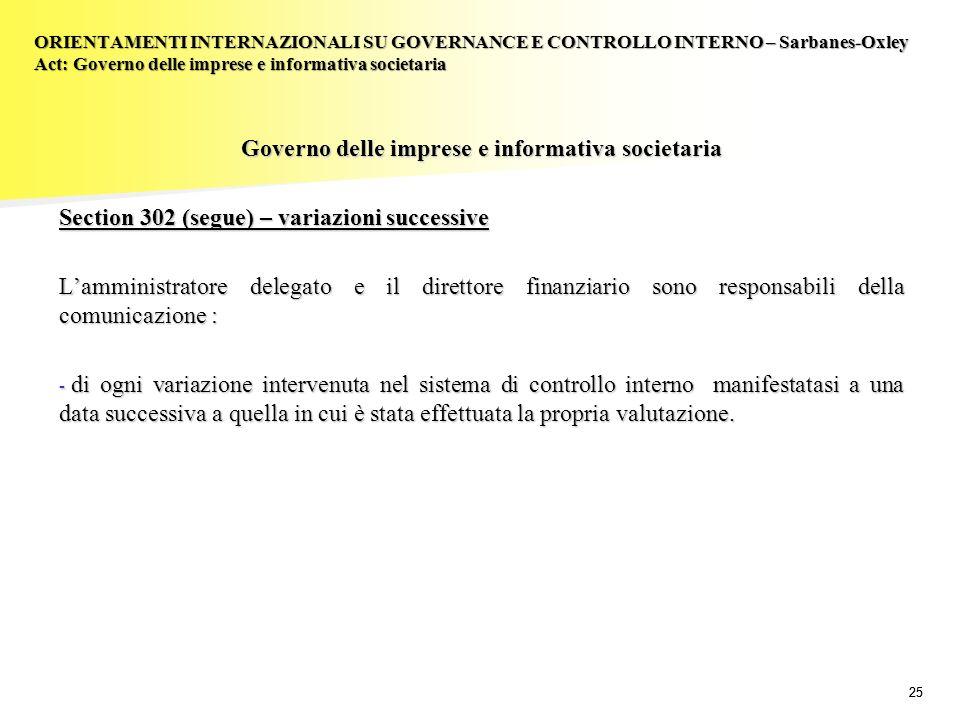 Governo delle imprese e informativa societaria