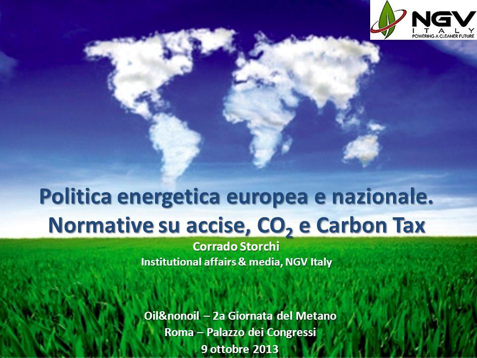 Oil&nonoil – 2a Giornata del Metano Roma – Palazzo dei Congressi