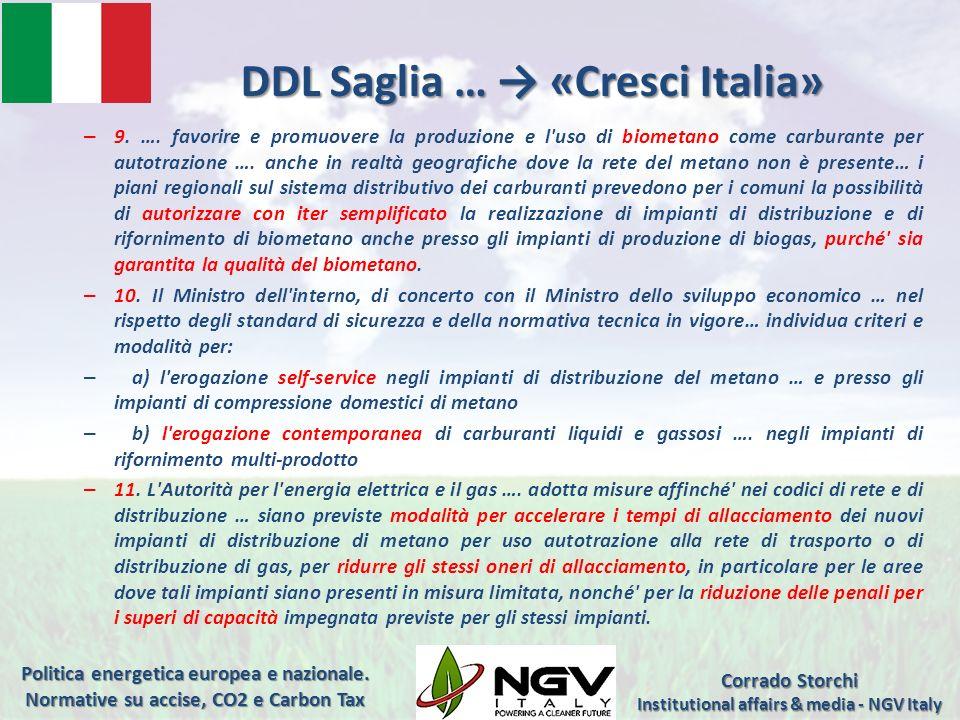 DDL Saglia … → «Cresci Italia»