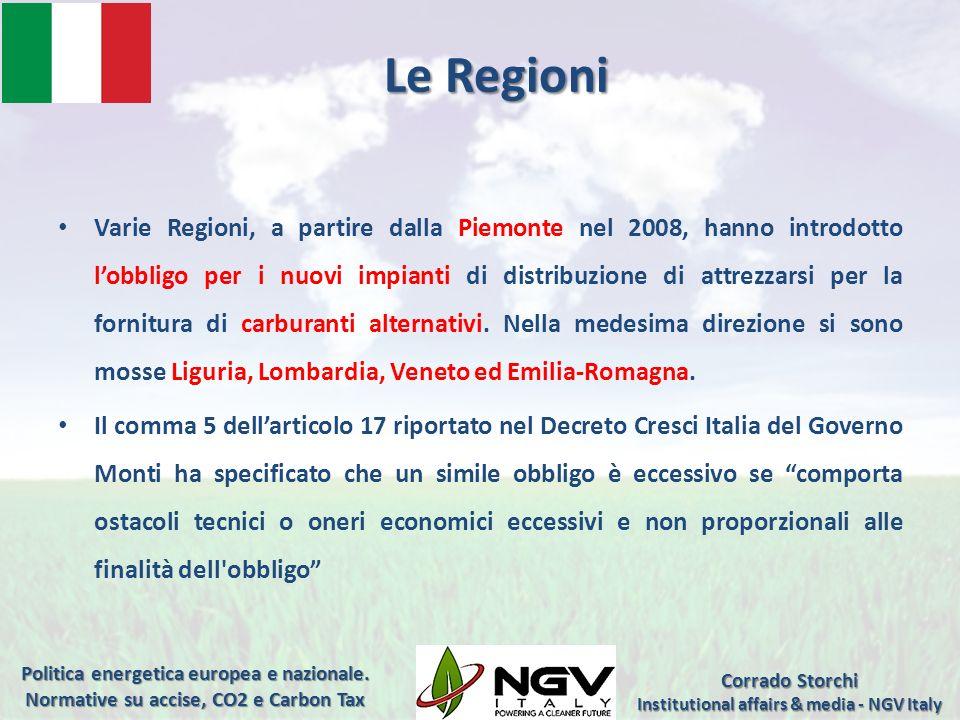 Institutional affairs & media - NGV Italy