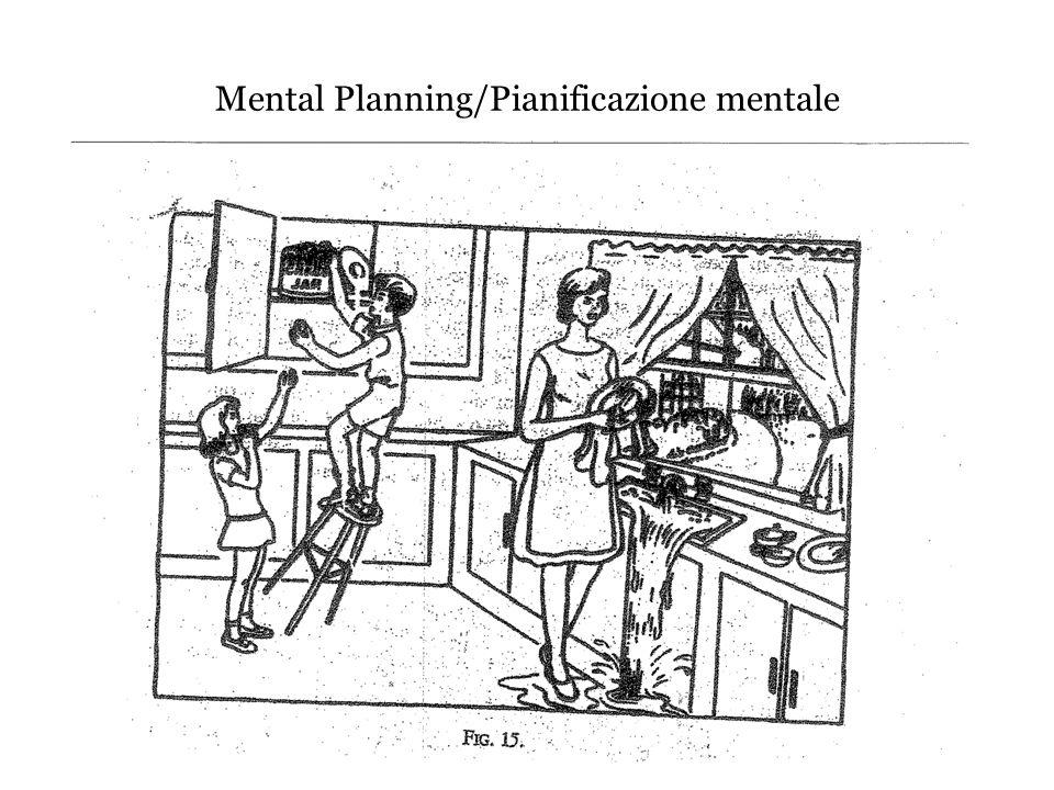 Mental Planning/Pianificazione mentale