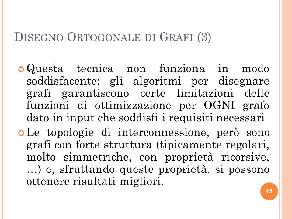 Disegno Ortogonale di Grafi (3)