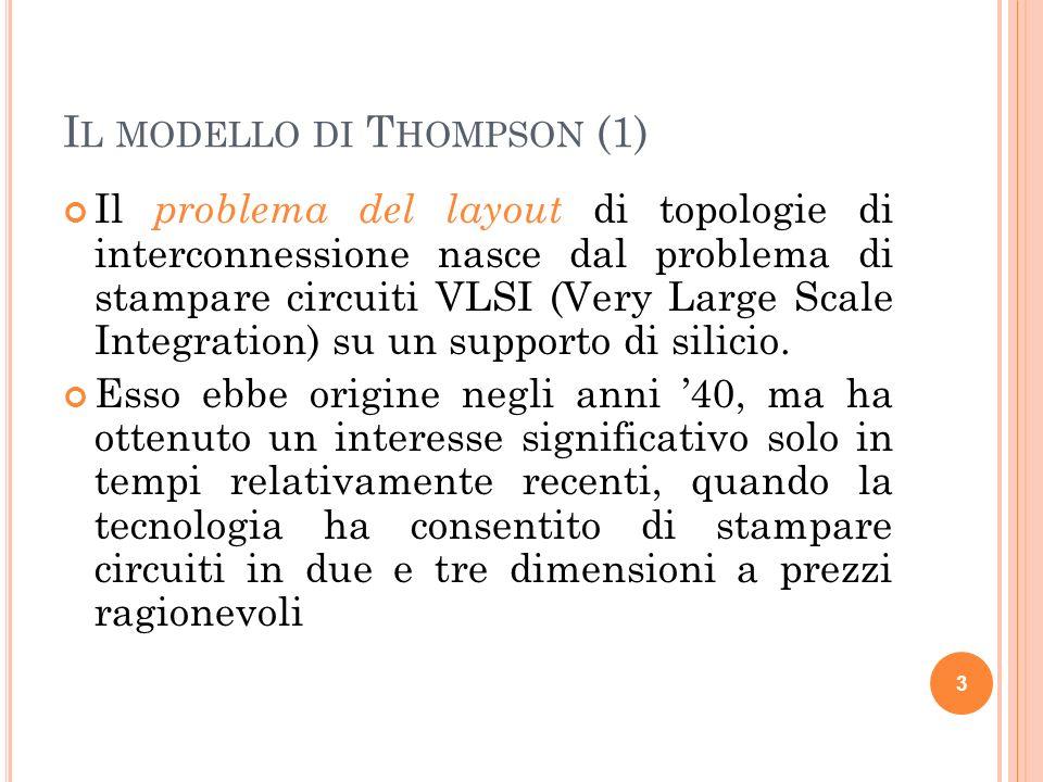 Il modello di Thompson (1)