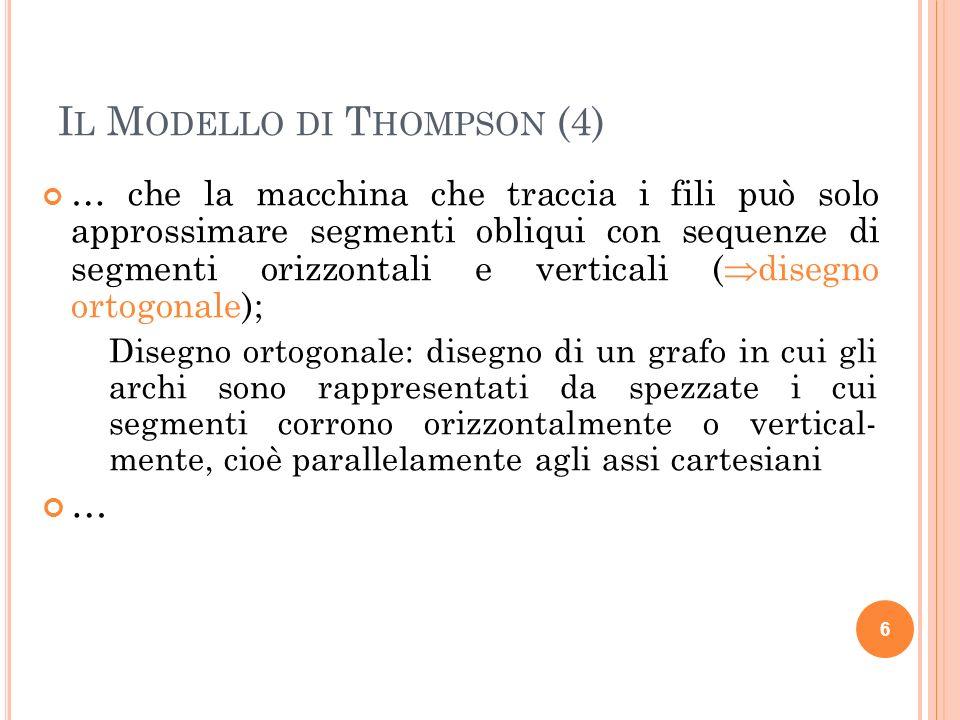 Il Modello di Thompson (4)