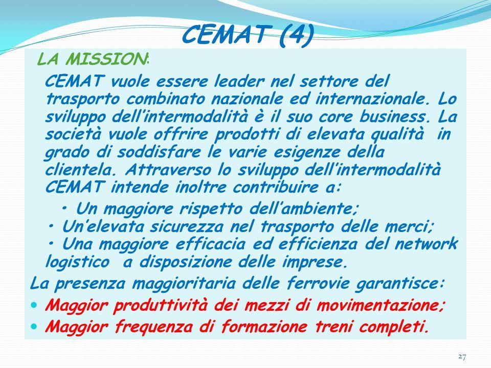 CEMAT (4) LA MISSION: