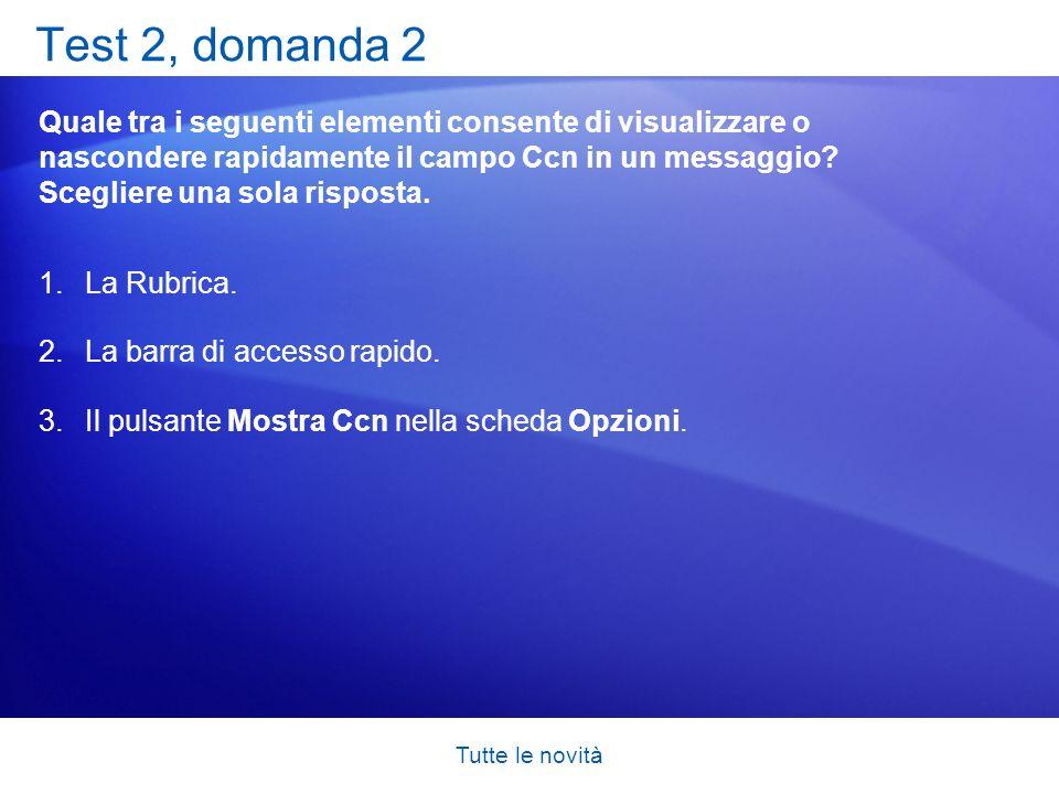 Test 2, domanda 2