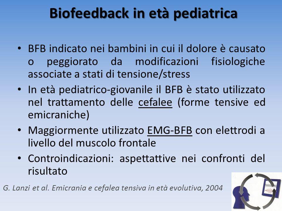 Biofeedback in età pediatrica