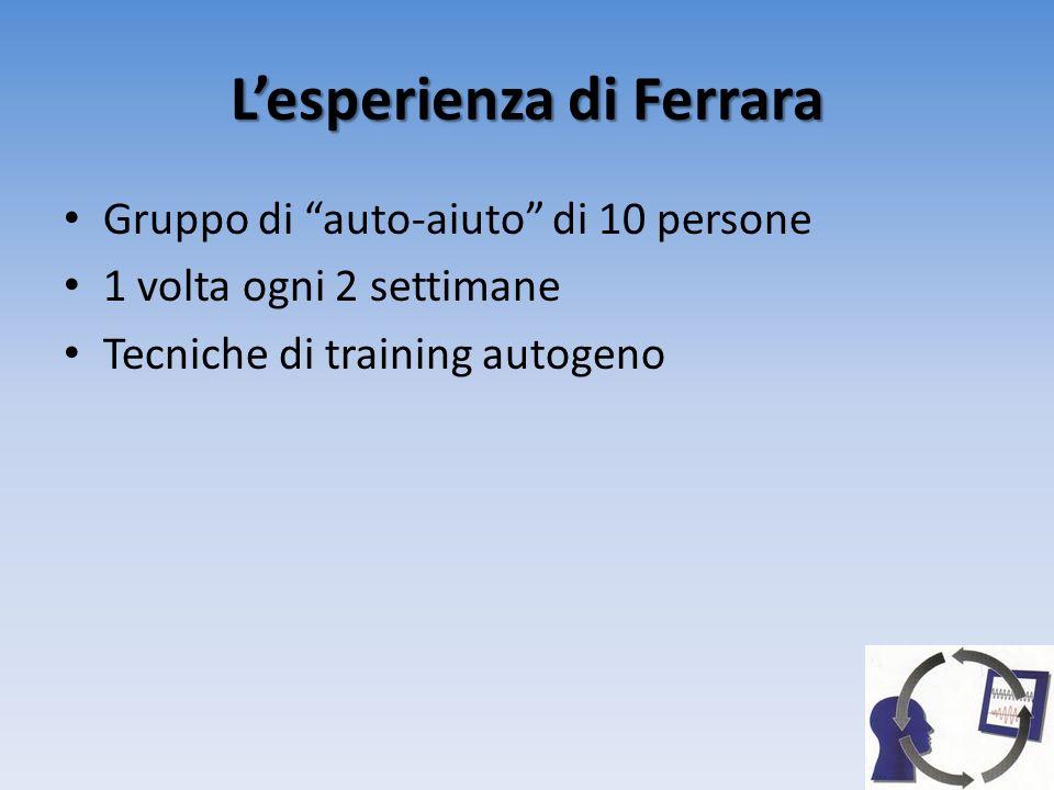 L'esperienza di Ferrara