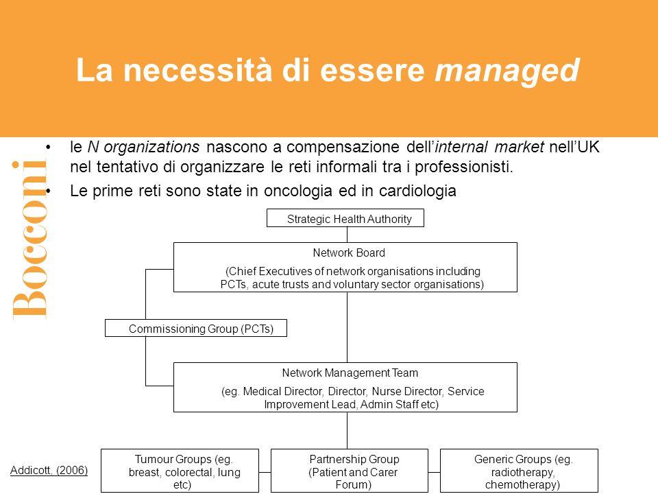 La necessità di essere managed