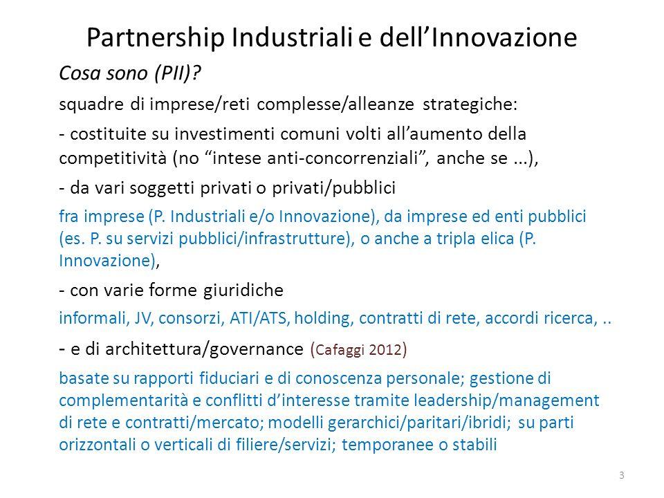 Partnership Industriali e dell'Innovazione