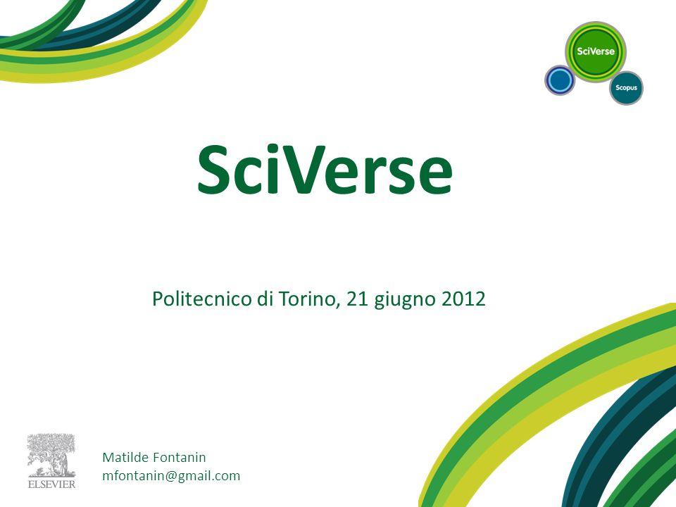 Politecnico di Torino, 21 giugno 2012
