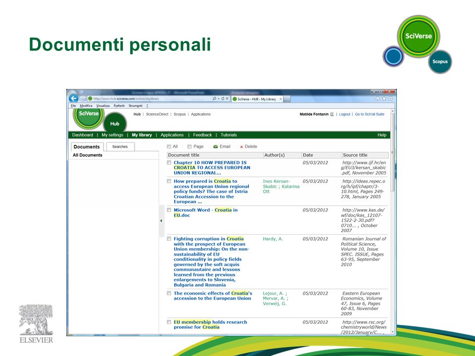 Documenti personali