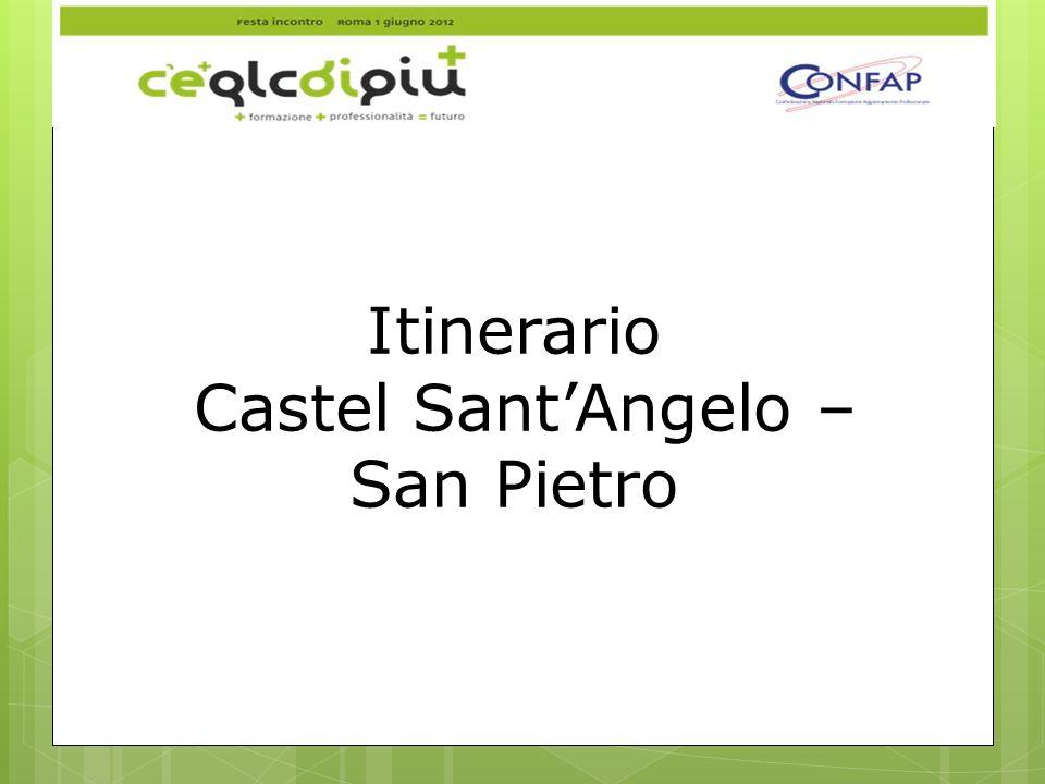 Itinerario Castel Sant'Angelo – San Pietro