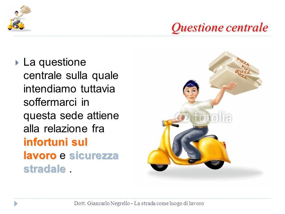 Dott. Giancarlo Negrello - La strada come luogo di lavoro