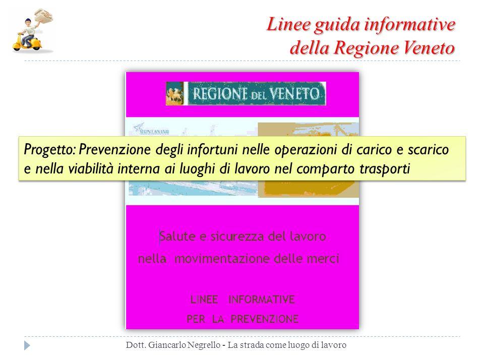 Linee guida informative della Regione Veneto