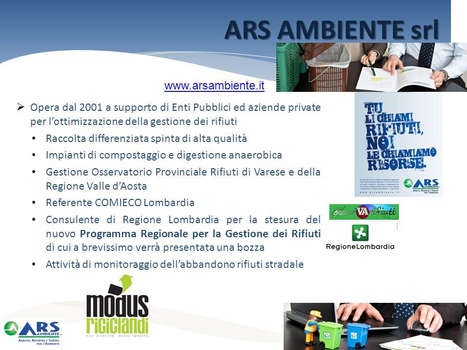 ARS AMBIENTE srl www.arsambiente.it