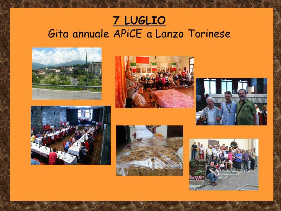 Gita annuale APiCE a Lanzo Torinese