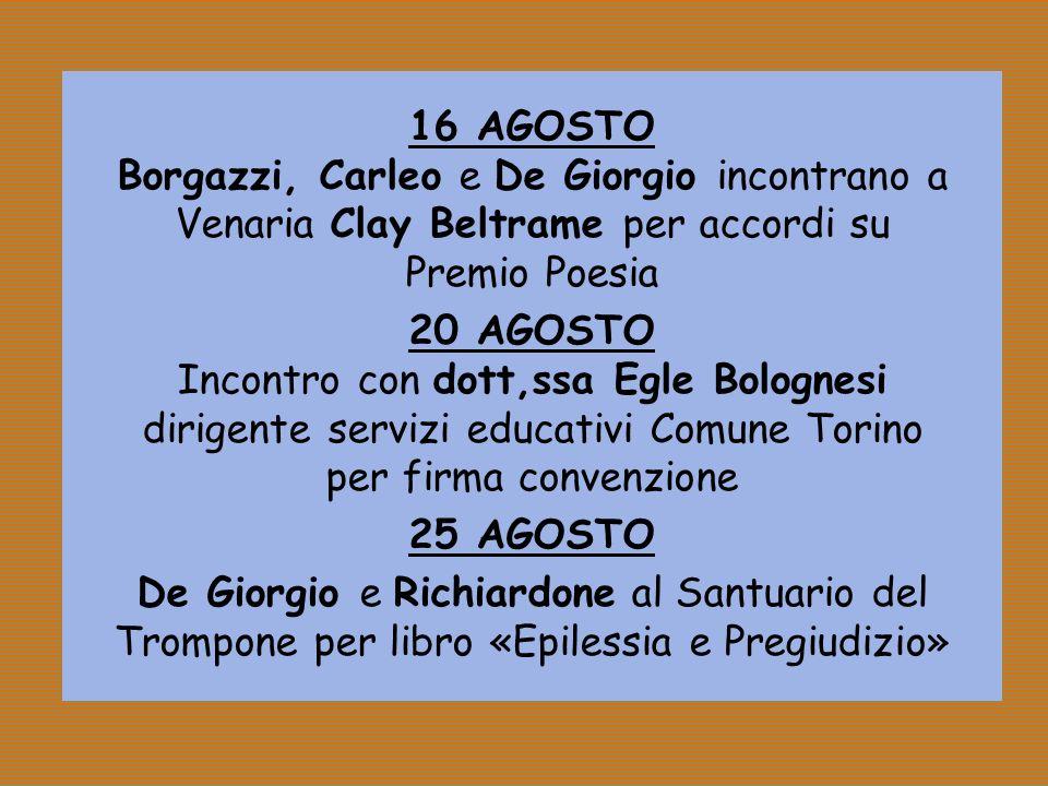 Incontro con dott,ssa Egle Bolognesi