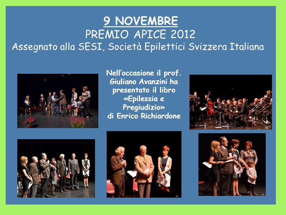 Nell'occasione il prof. Giuliano Avanzini ha «Epilessia e Pregiudizio»