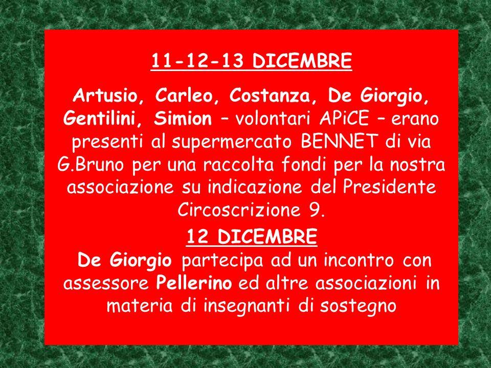 11-12-13 DICEMBRE