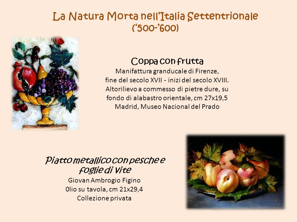 La Natura Morta nell'Italia Settentrionale