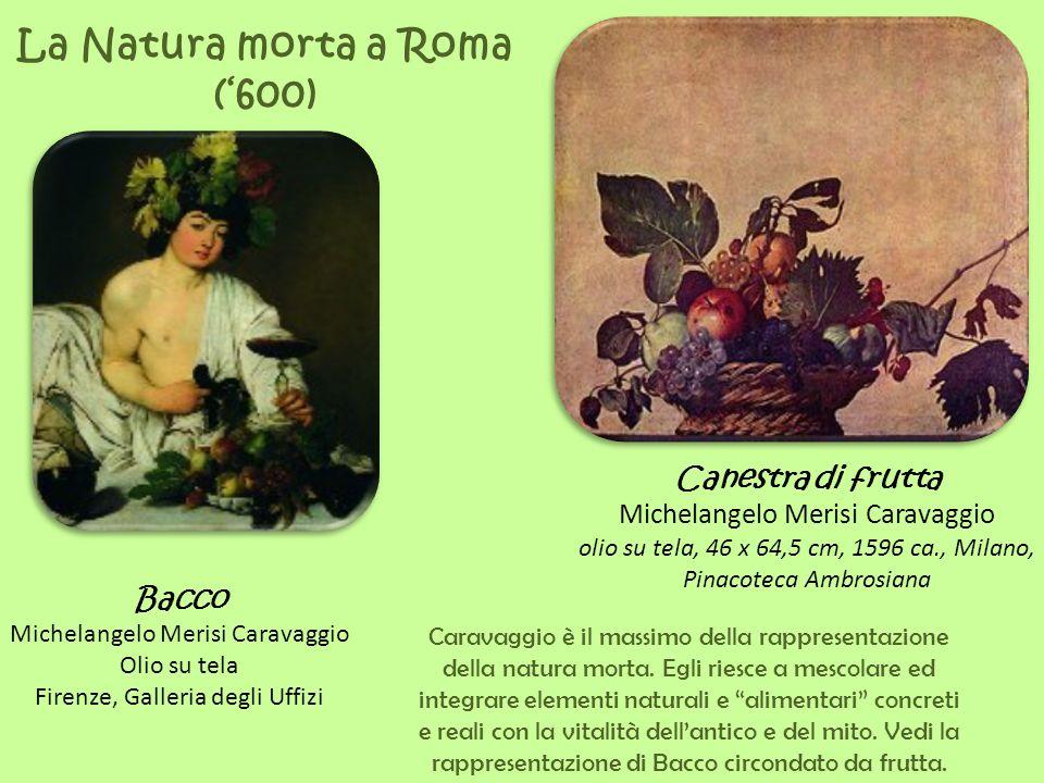 La Natura morta a Roma ('600)