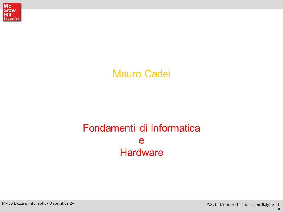 Fondamenti di Informatica e Hardware