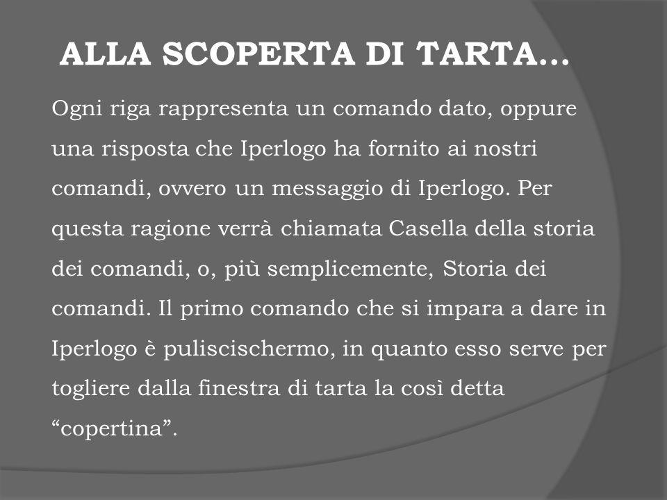 Alla scoperta di Tarta…