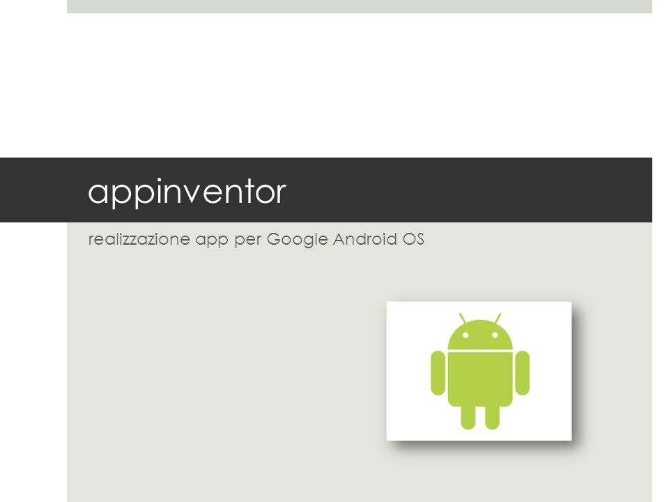 realizzazione app per Google Android OS