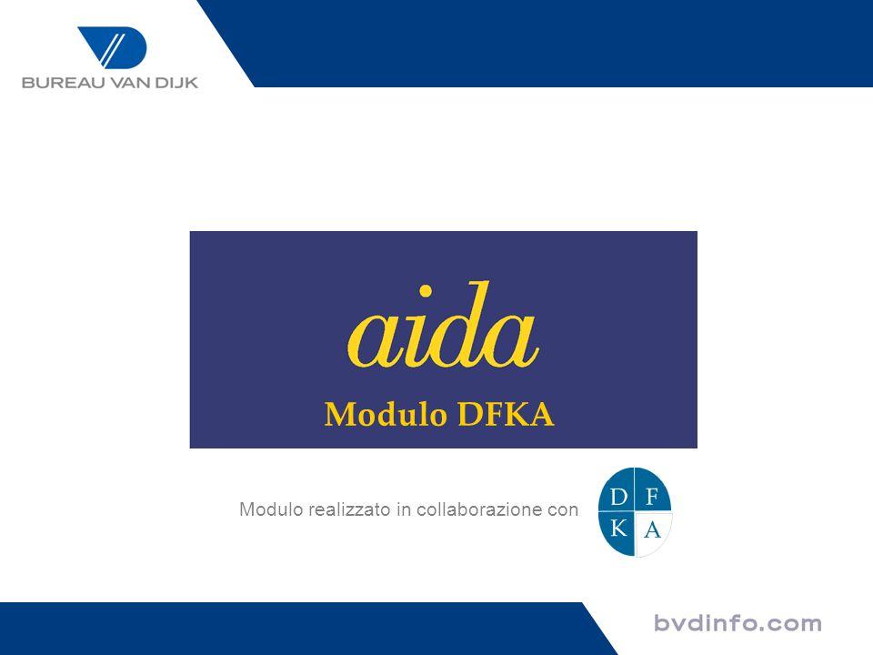 Modulo DFKA Modulo realizzato in collaborazione con