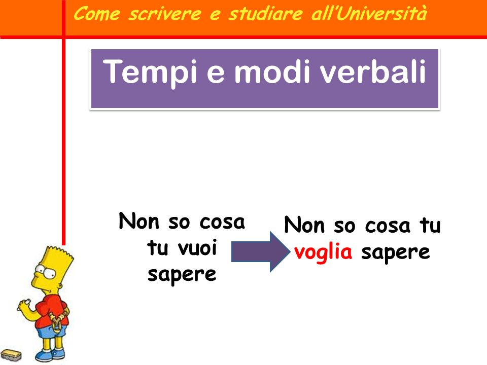 Come scrivere e studiare all'Università