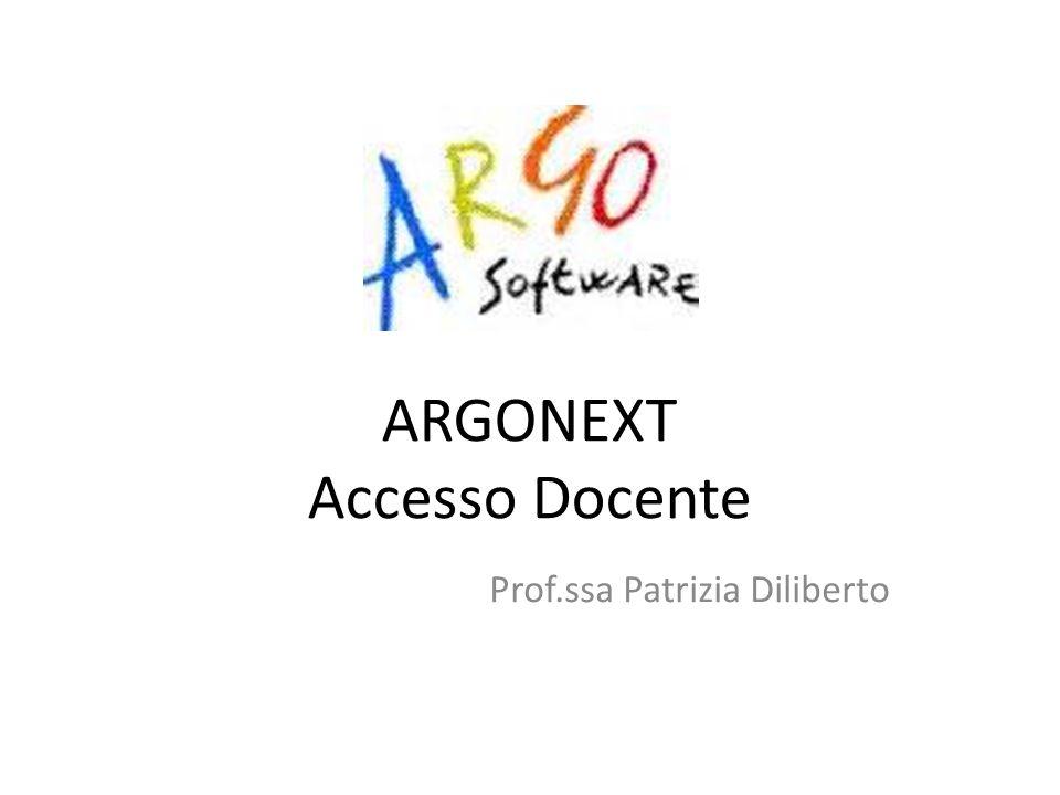 ARGONEXT Accesso Docente