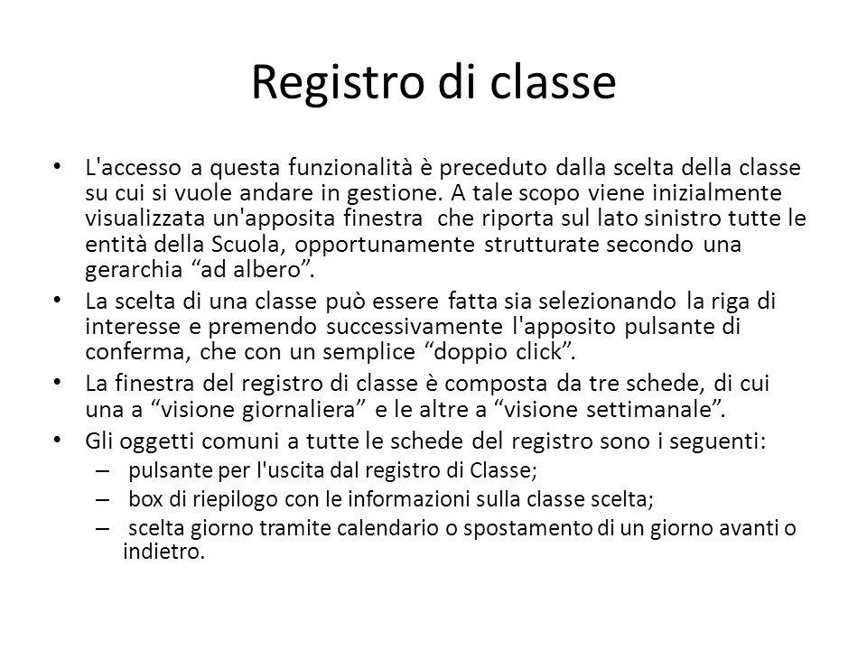 Registro di classe