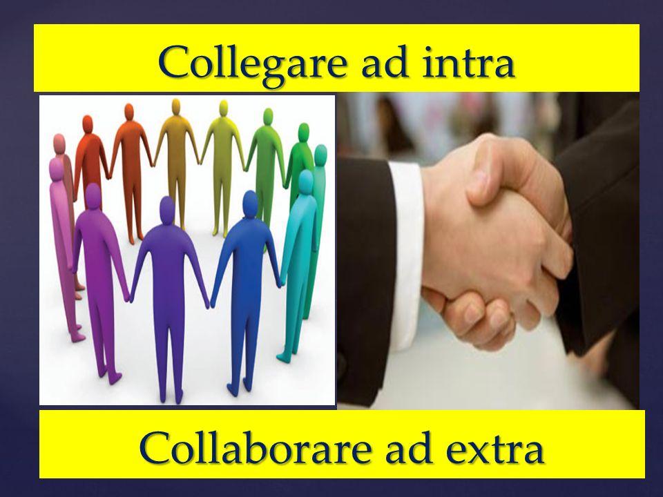 Collegare ad intra Collaborare ad extra