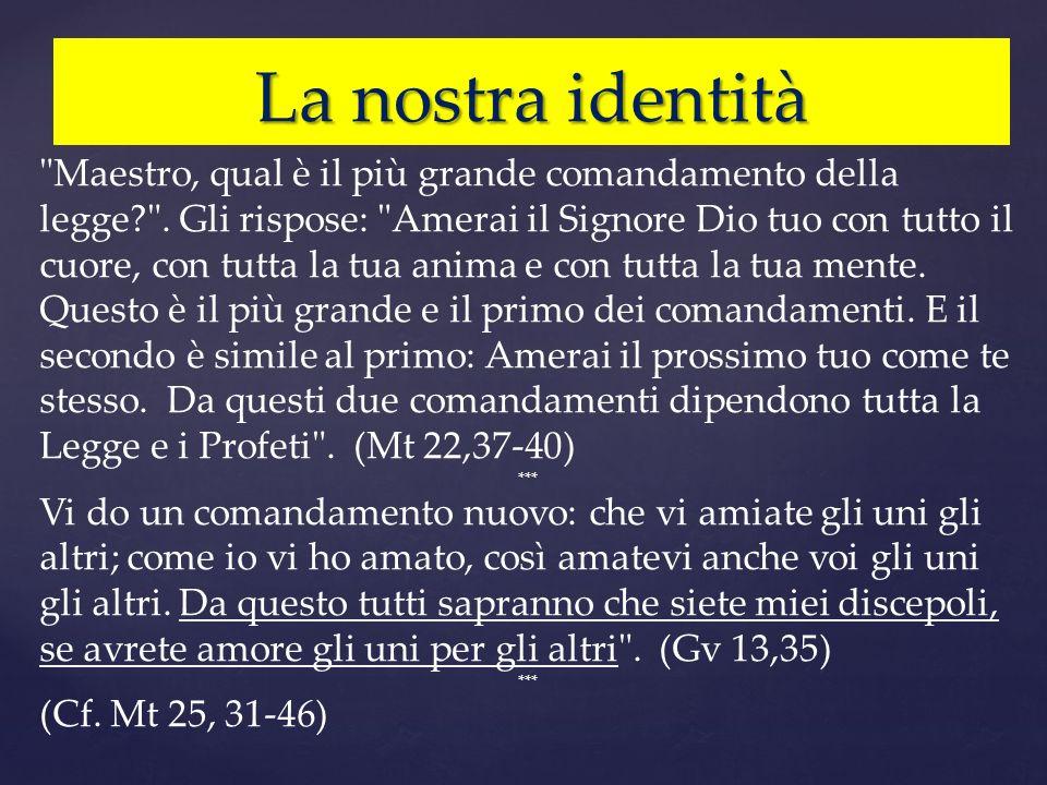 La nostra identità