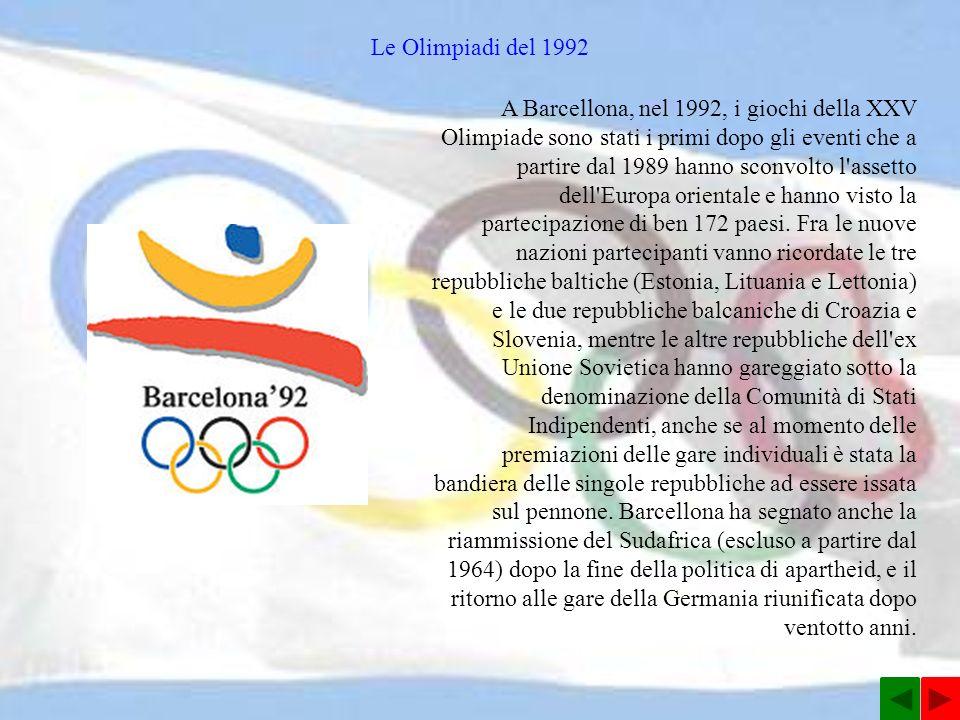 Le Olimpiadi del 1992