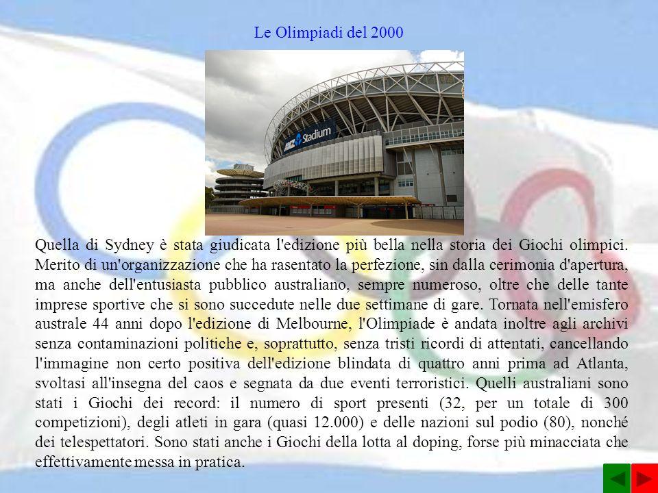 Le Olimpiadi del 2000