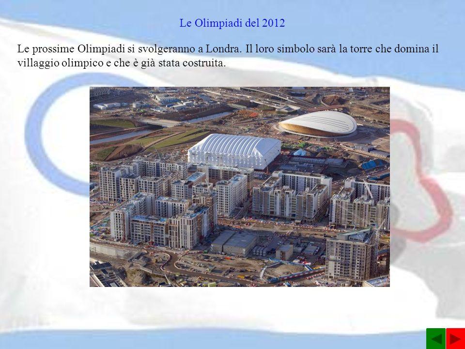 Le Olimpiadi del 2012
