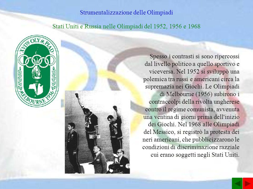 Strumentalizzazione delle Olimpiadi