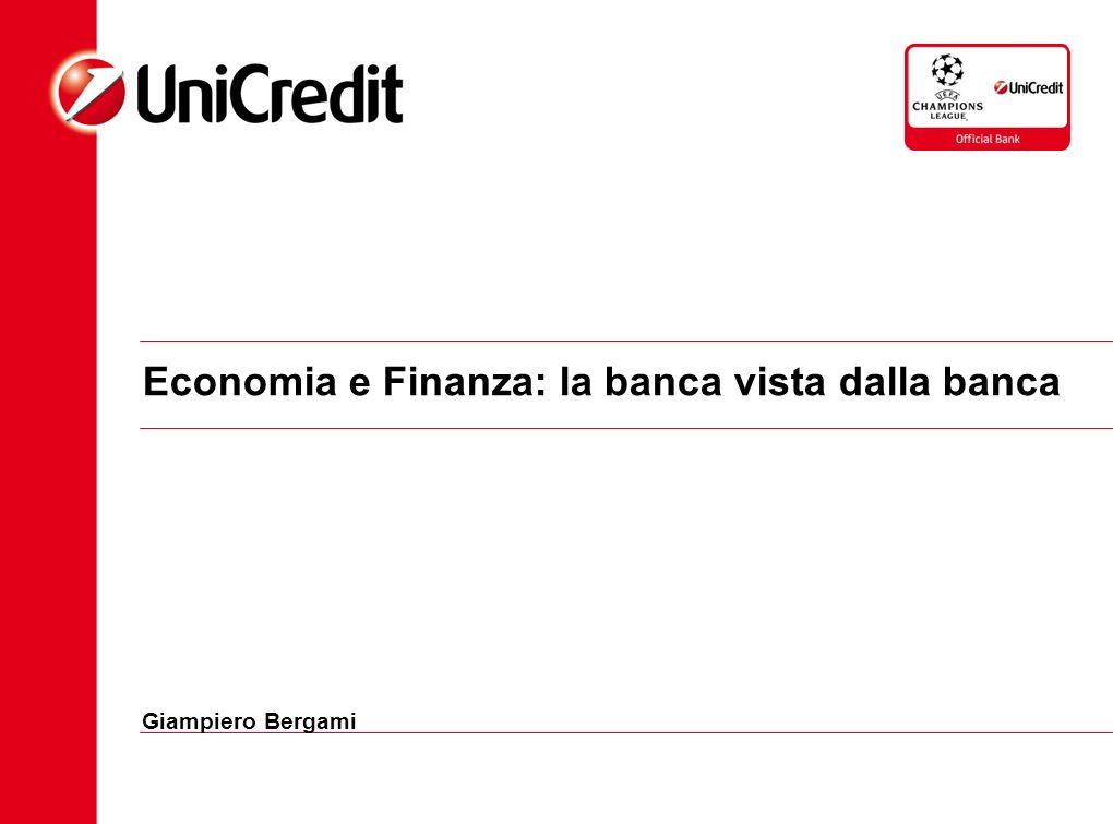 Economia e Finanza: la banca vista dalla banca