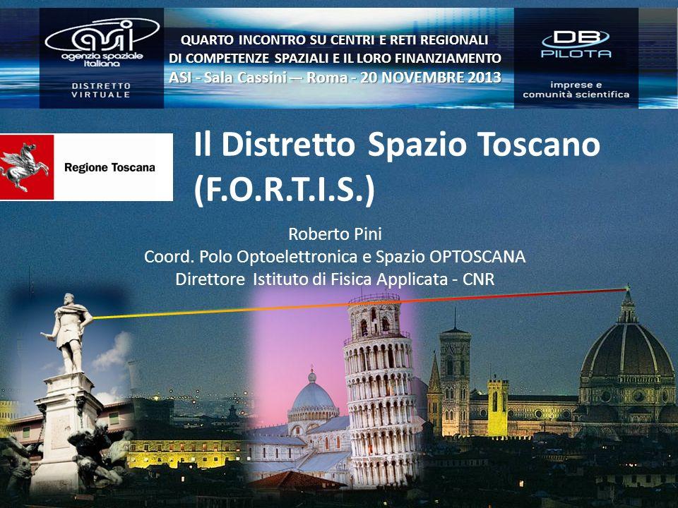 Il Distretto Spazio Toscano (F.O.R.T.I.S.)