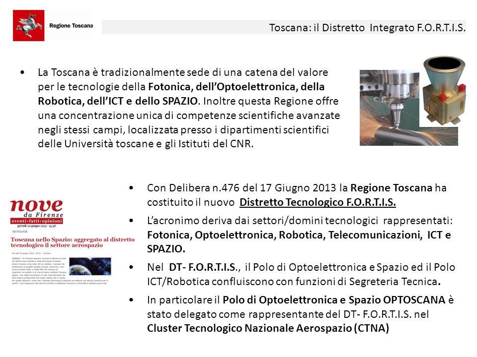 Toscana: il Distretto Integrato F.O.R.T.I.S.