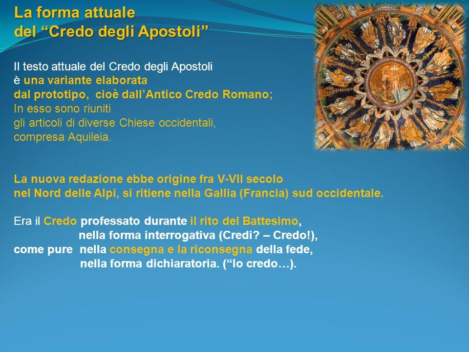 del Credo degli Apostoli