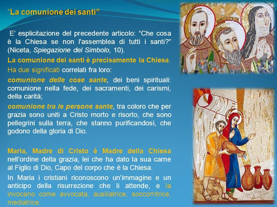 La comunione dei santi