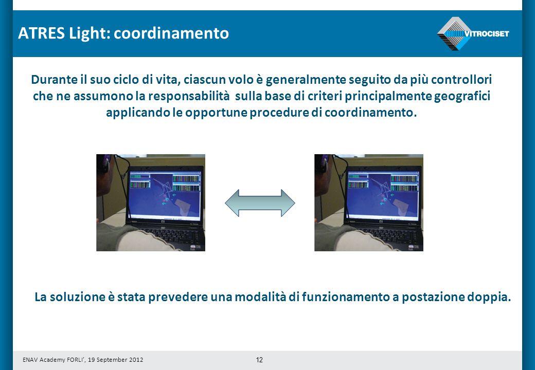 ATRES Light: coordinamento